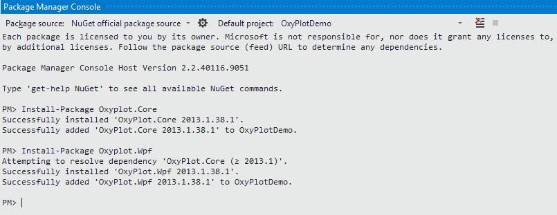 Creating graphs in WPF using OxyPlot | Bart De Meyer – Blog