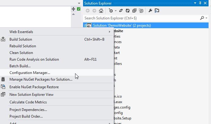 Create an installer for website with WIX, part 1   Bart De